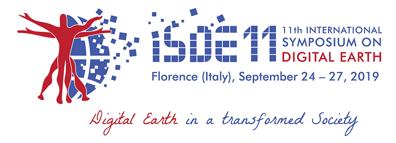 11th International Symposium on Digital Earth Florence September 23-27 2019